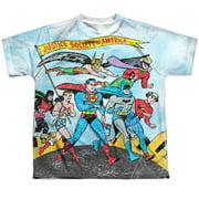 Jla - World Cure - Youth Short Sleeve Shirt - X-Large