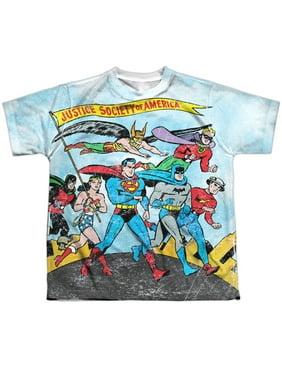 Jla - World Cure - Youth Short Sleeve Shirt - Medium
