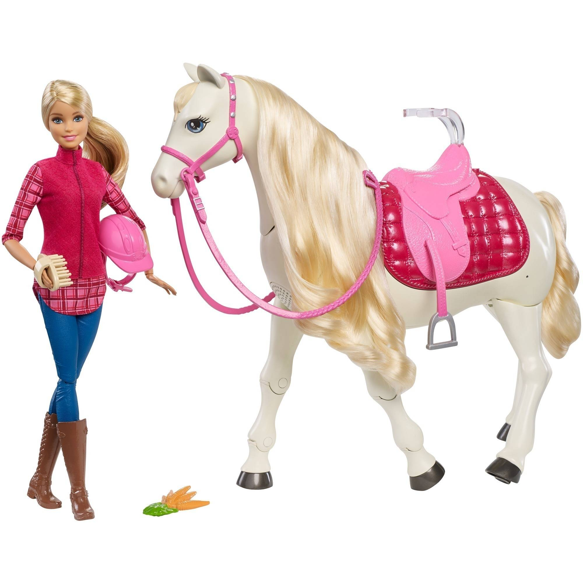 Barbie DreamHorse and Caucasian Doll by Mattel