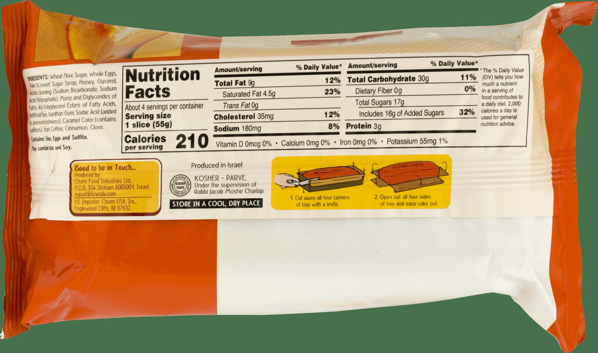 Osem Honey Cake, 8 8 Ounce (Pack of 9) - Walmart com