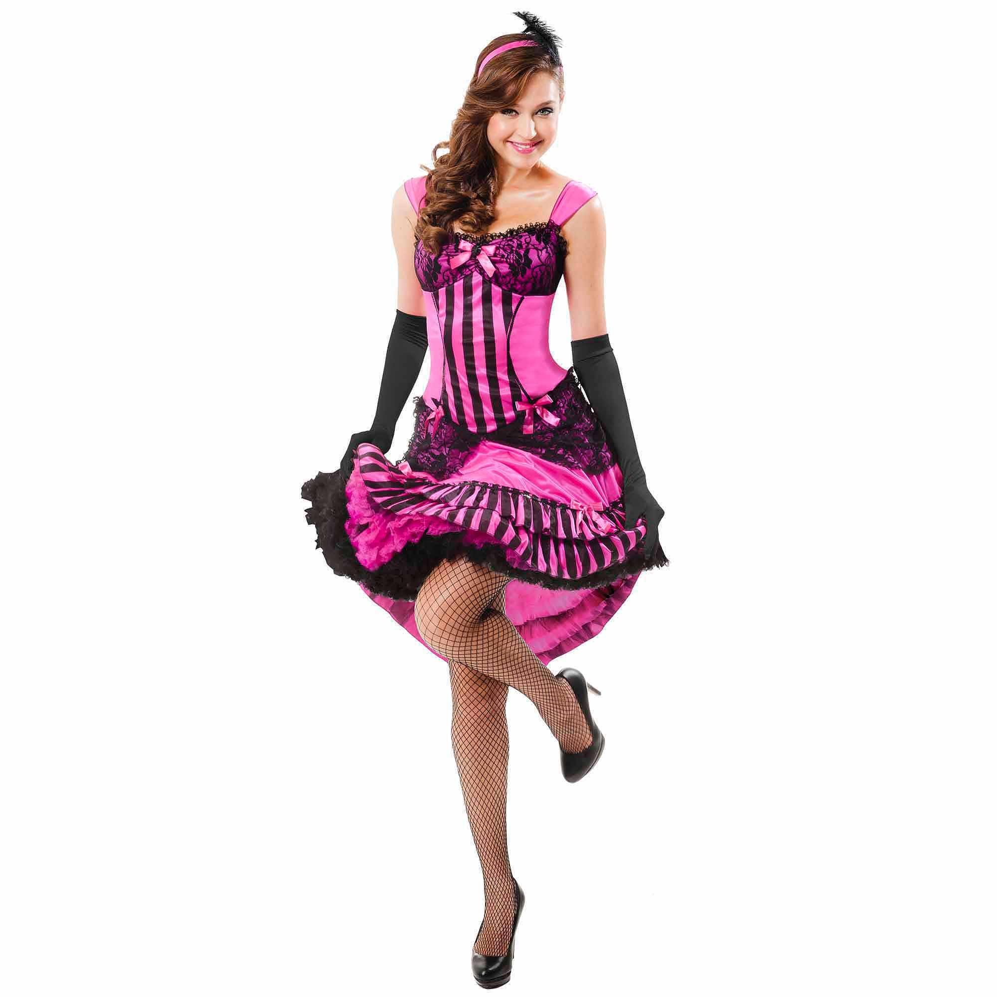 sc 1 st  Walmart & Saloon Girl Adult Halloween Costume - Walmart.com