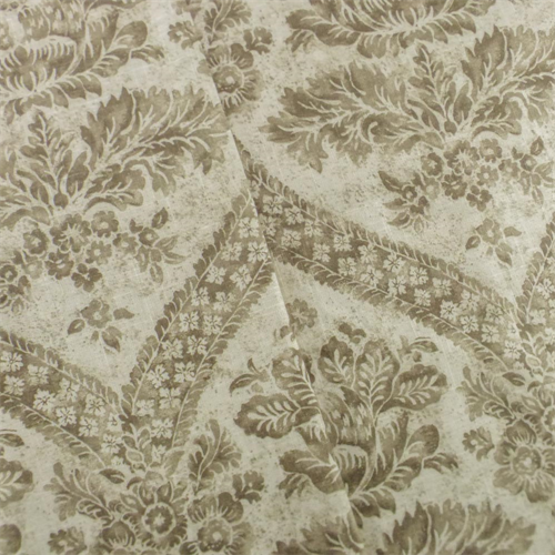 Beige/Brown P/Kaufmann Floral Printed Home Decorating Fabric, Fabric By the Yard