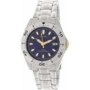 Men's PXD681X Silver Stainless-Steel Quartz Watch