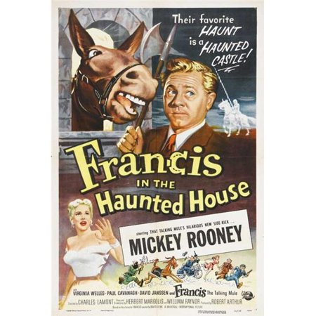 Posterazzi MOVIJ2218 Francis in the Haunted House Movie Poster - 27 x 40 in. - image 1 of 1