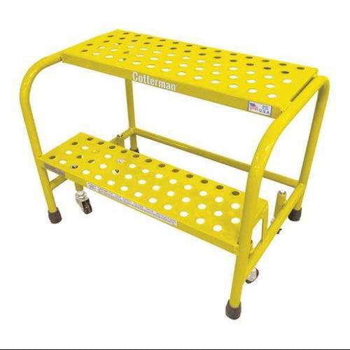 Cotterman 1002N1818A6E10B3C2P1 Rolling Ladder,Steel,20In....