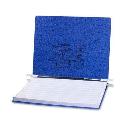 Pressboard Hanging Data Binder, 14-7/8 x 11 Unburst Sheets, Dark Blue (54073), ACCO 54073 Pressboard Hanging Data Binder, 14-7/8 x 11 Unburst Sheets, Dark Blue By ACCO Brands