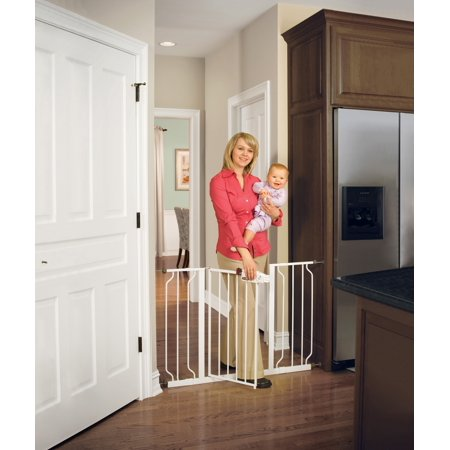Regaloeasy Step Extra Wide Baby Gate White