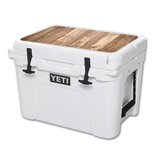 MightySkins Protective Vinyl Skin Decal for YETI Tundra 35 qt Cooler Lid wrap cover sticker skins On The Fence