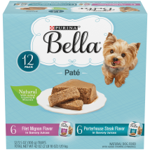 Dog Food: Purina Bella Wet Food
