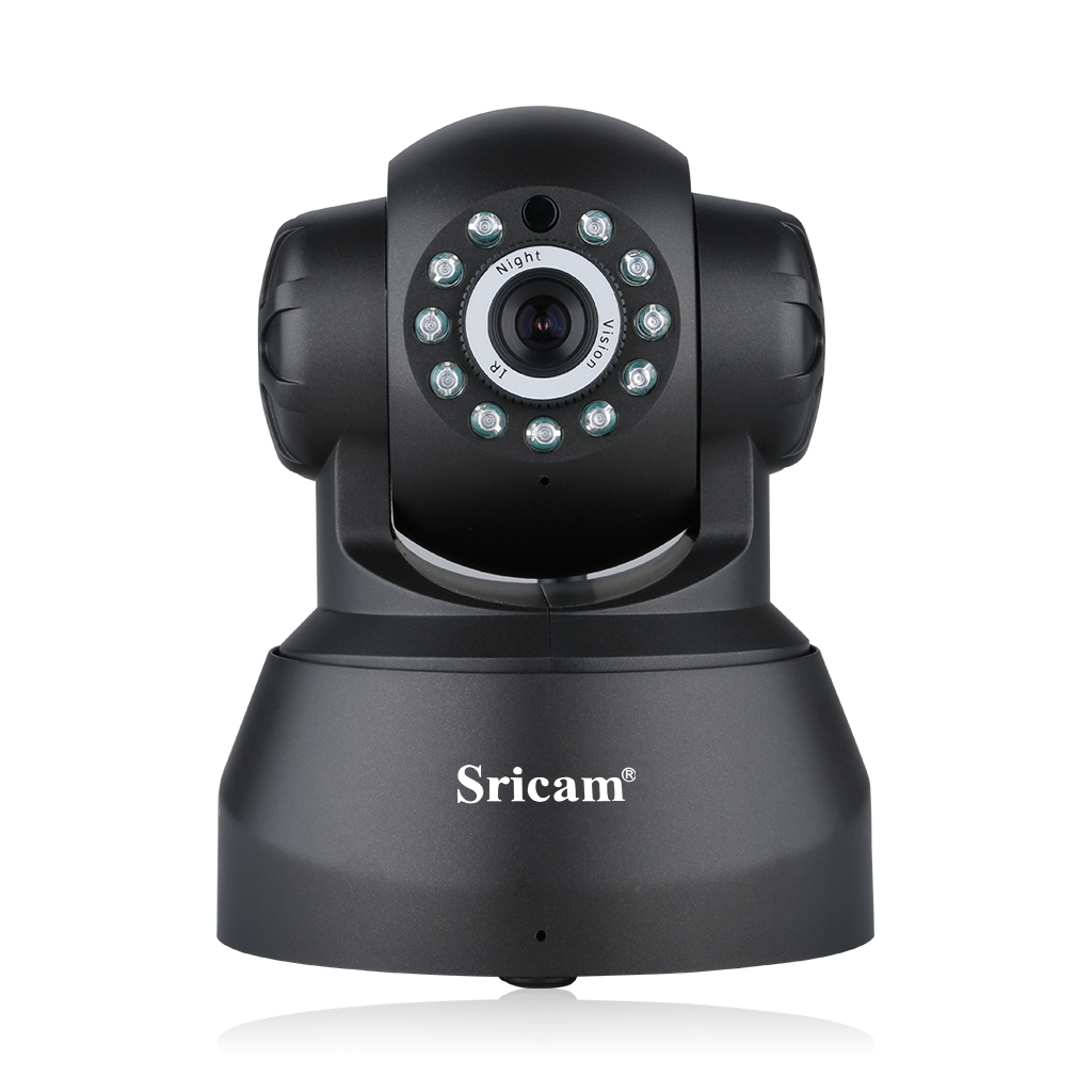 Sricam WiFi IP Camera 720P HD Wireless Camera Baby Pet Monitor Surveillance Home Security Camera Nanny IP Cam Pan/Tilt with Motion Detection Two-Way Audio Night Vision