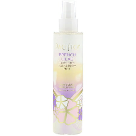 Pacifica  French Lilac Perfumed Hair   Body Mist  6 fl oz  177 ml