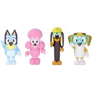 Bluey & Friends Action Figure 4-Pack | Bluey | Snickers | Coco | Honey