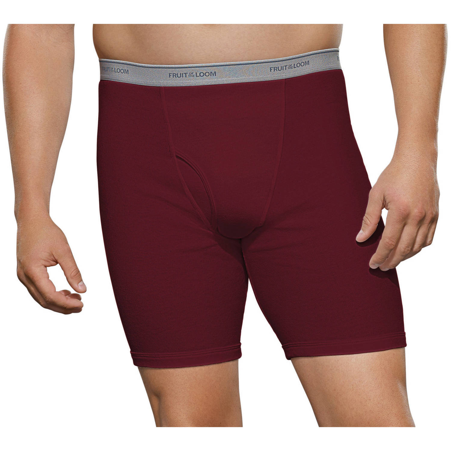 Fruit of the Loom Big Men's Collection Boxer Briefs, 2-Pack