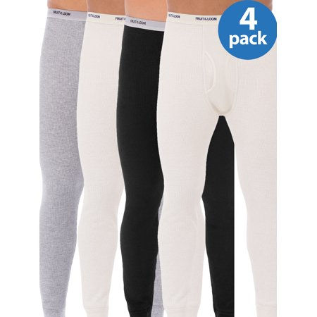 Buy 2 Fruit of the Loom Big Mens Classic Thermal Underwear Bottom, Value 2 Pack, and Save!