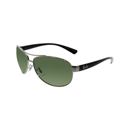 536b450818d411 Ray-Ban Men s Polarized Active RB3386-004 9A-63 Gunmetal Aviator Sunglasses  ...