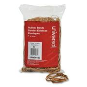 "Universal Rubber Bands, Size 33, 0.04"" Gauge, Beige, 1 lb Box, 640/Pack -UNV00133"