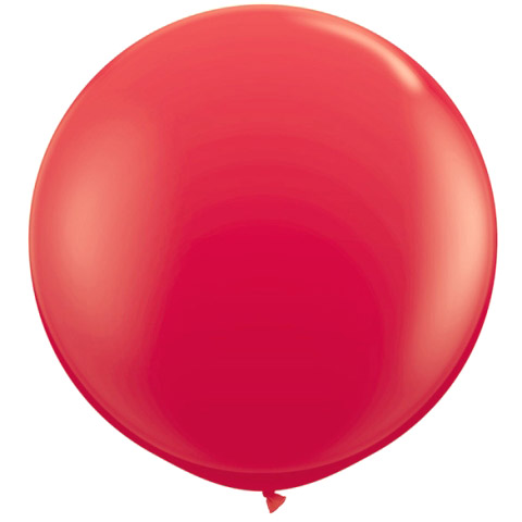 """Quasimoon 36"""" Red Party Latex Balloon Decorations (2 Pack) by PaperLanternStore"""