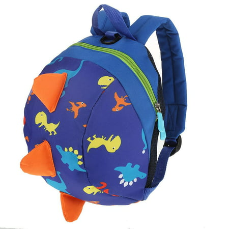 Preschool Uniform - Knifun Kids Insulated Toddler Backpack with Safety Harness Leash - Playful Preschool Kids Lunch Bag, Dinosaur Nursery Shoulder Backpack with Anti-Lost Strap for 1-3 Years Old Boys and Girls