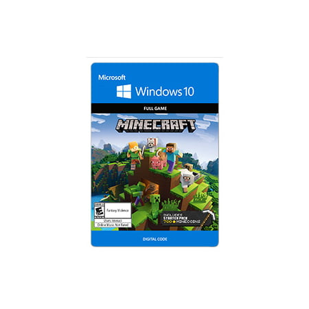 Minecraft Starter Collection, Microsoft, Windows 10, [Digital Download] (Download Collection)