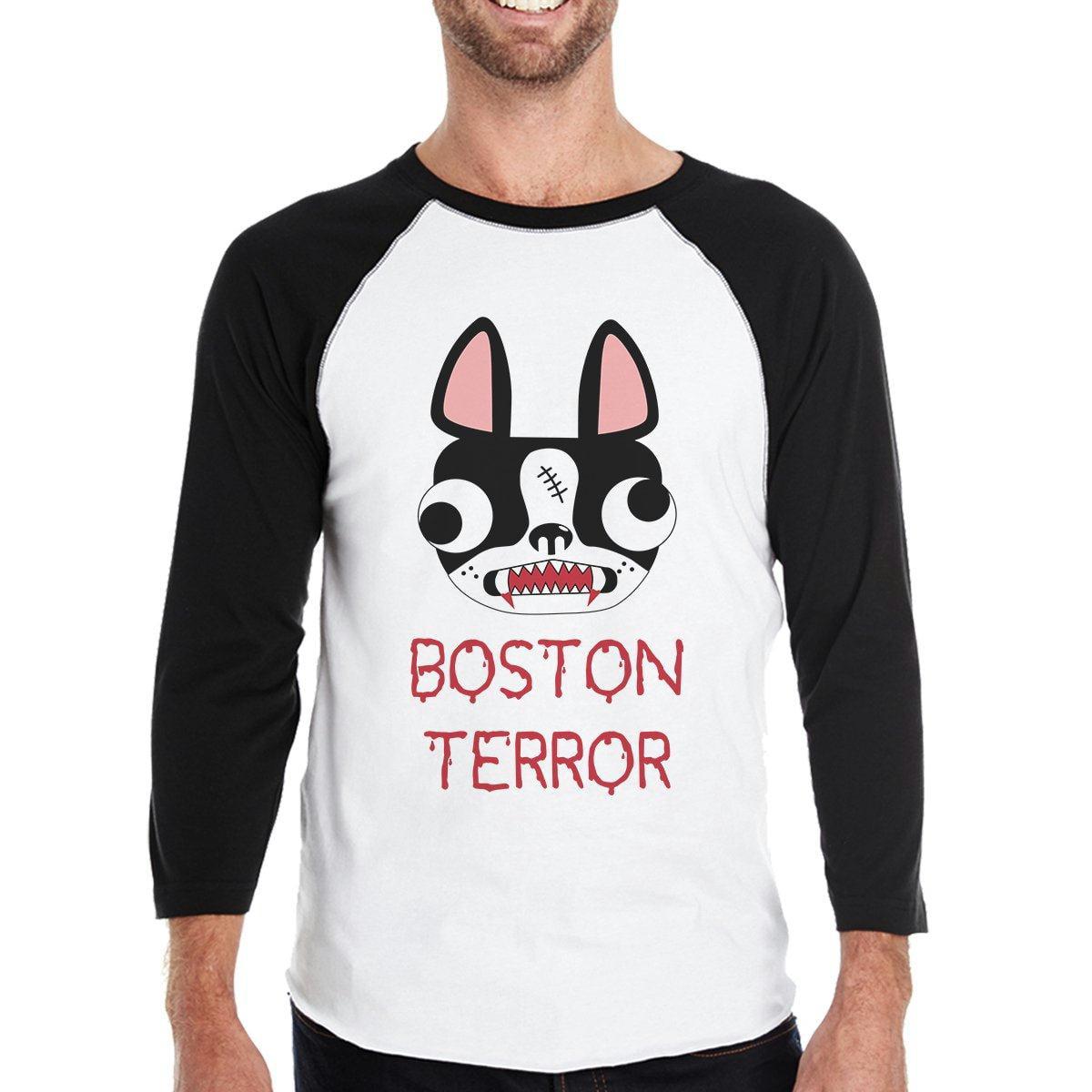 Boston Terror Terrier Baby Black Bodysuit