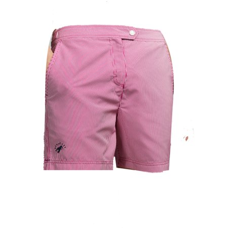 Ted Baker Geo Print Shorts, Galley Pink, 46 (Ted Baker Sonnenbrille Fall)
