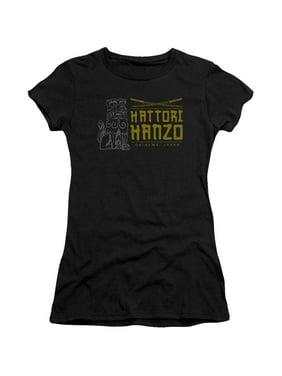 4639a4a1957e2b Product Image Kill Bill Hanzo Swords Juniors Short Sleeve Shirt