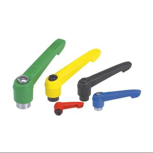 KIPP 06600-1A186 Adjustable Handles,10-32,Green