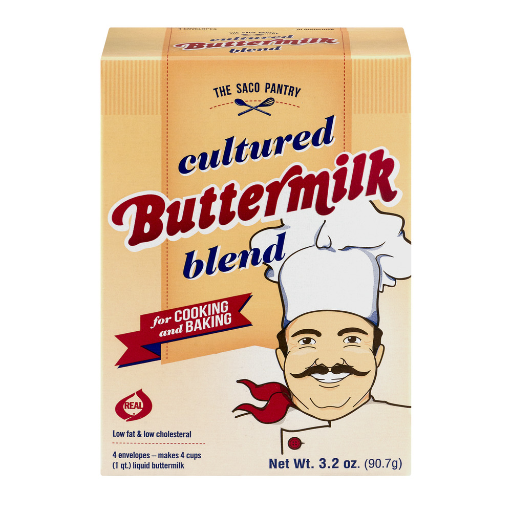 The Saco Pantry Cultured Buttermilk Blend For Cooking And Baking, 3.2 OZ