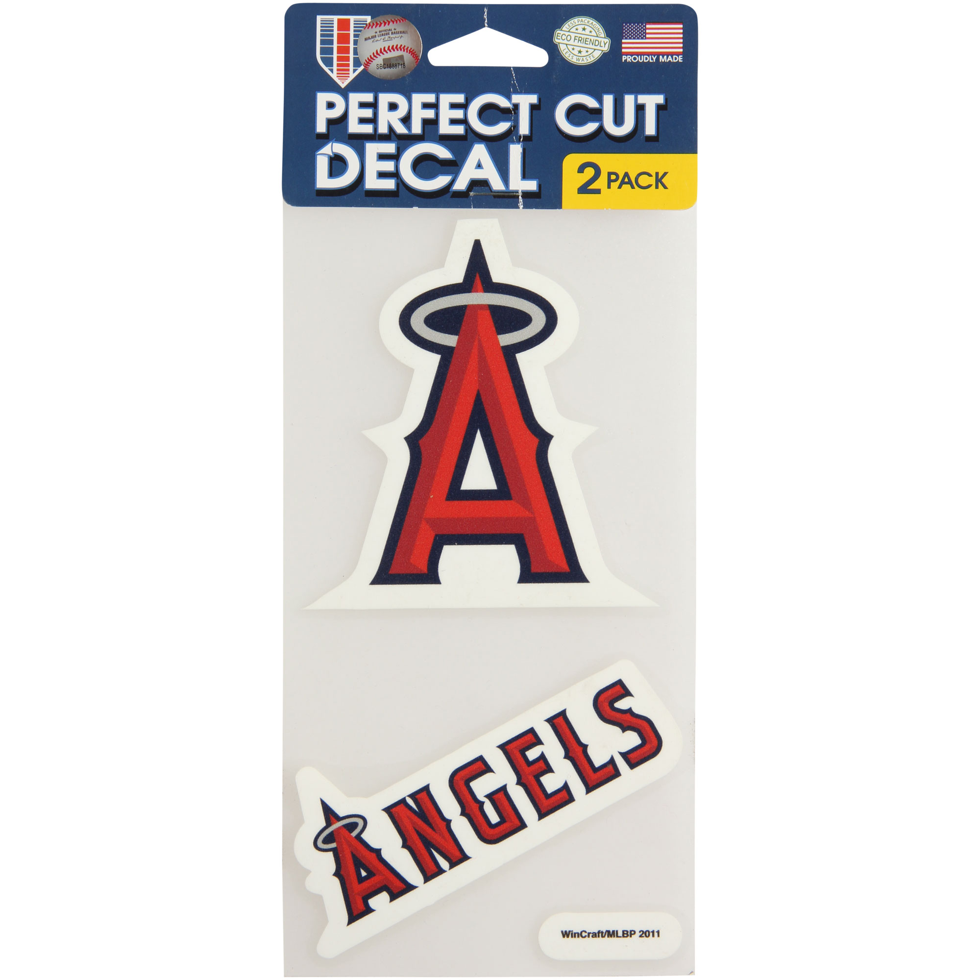 WinCraft Los Angeles Angels 2-Pack Ultra Decals - No Size