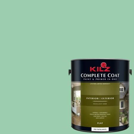 KILZ COMPLETE COAT Interior/Exterior Paint & Primer in One #RG250-02 Caesar