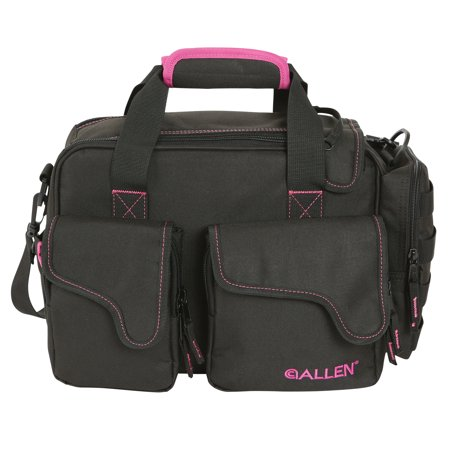 Dolores Compact Range Bag Black/Orchid by Allen Company