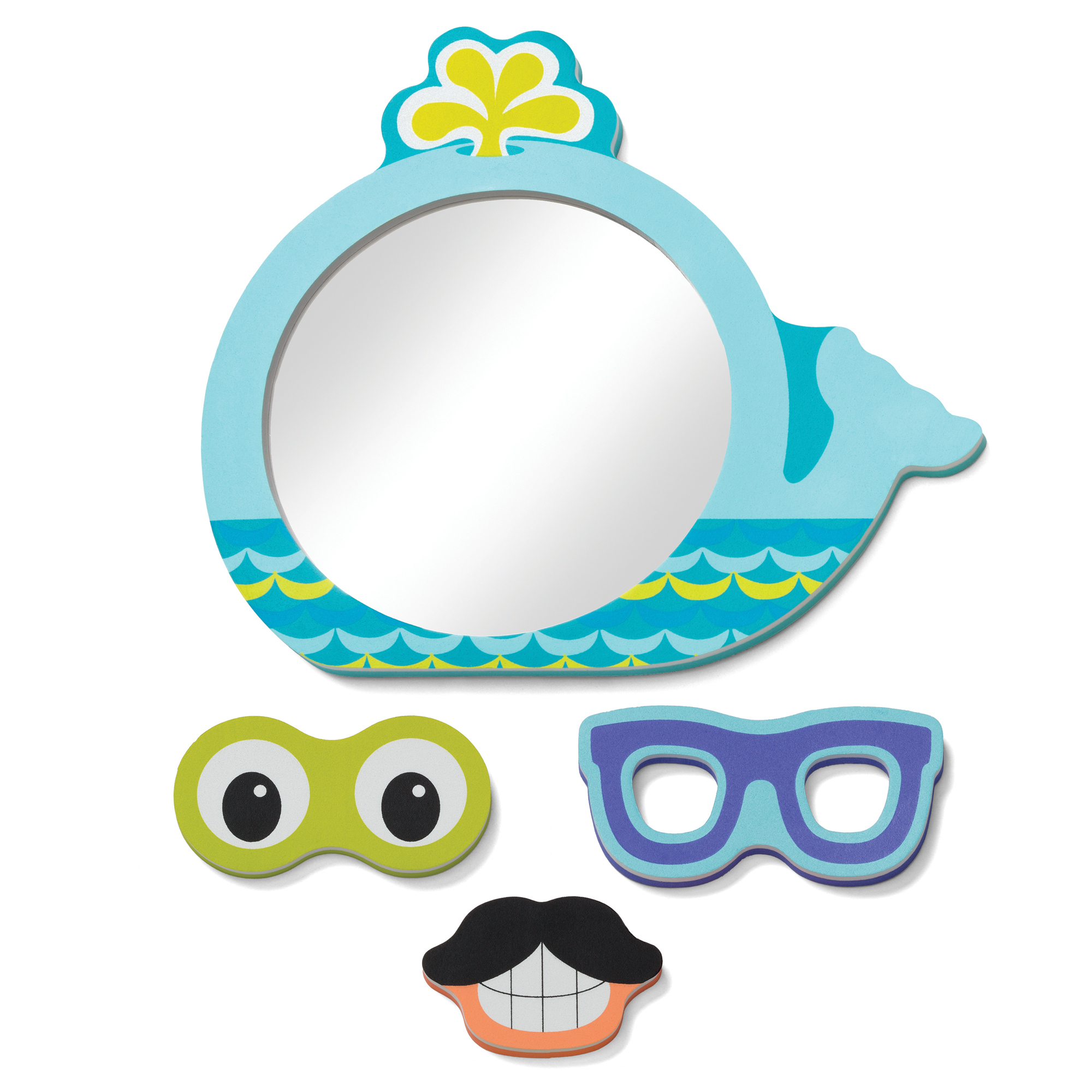Infantino Funny Faces Bath Mirror by Infantino