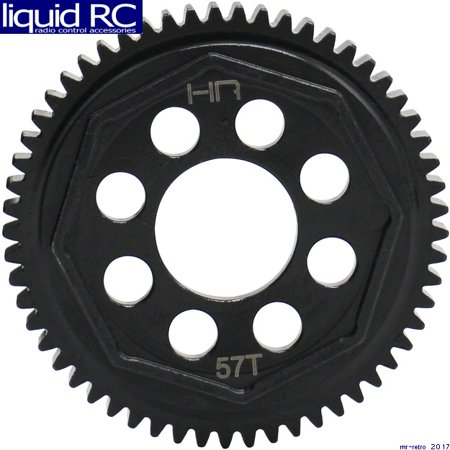 Hot Racing SATF257 57t Mod 0.8 Steel Spur Gear Arrma 1/10 4x4 Blx