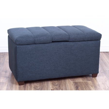 - The Crew Furniture® Upholstered Bedroom Storage Ottoman Bench #991910
