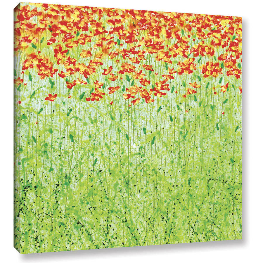 "ArtWall Herb Dickinson ""Spring Arabesque"" Gallery-wrapped Canvas"