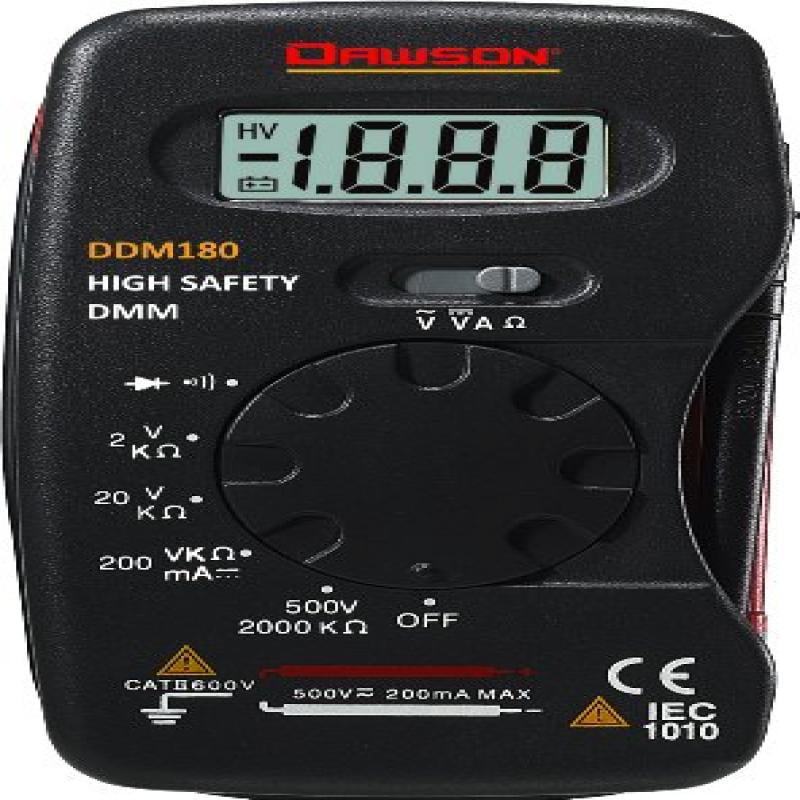 Dawson DDM180 Pocket-Size Digital Multimeter