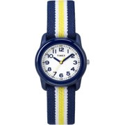 Best Kids Watches - Timex Kids TW7C05800 Blue Resin Watch with Blue/Yellow Review