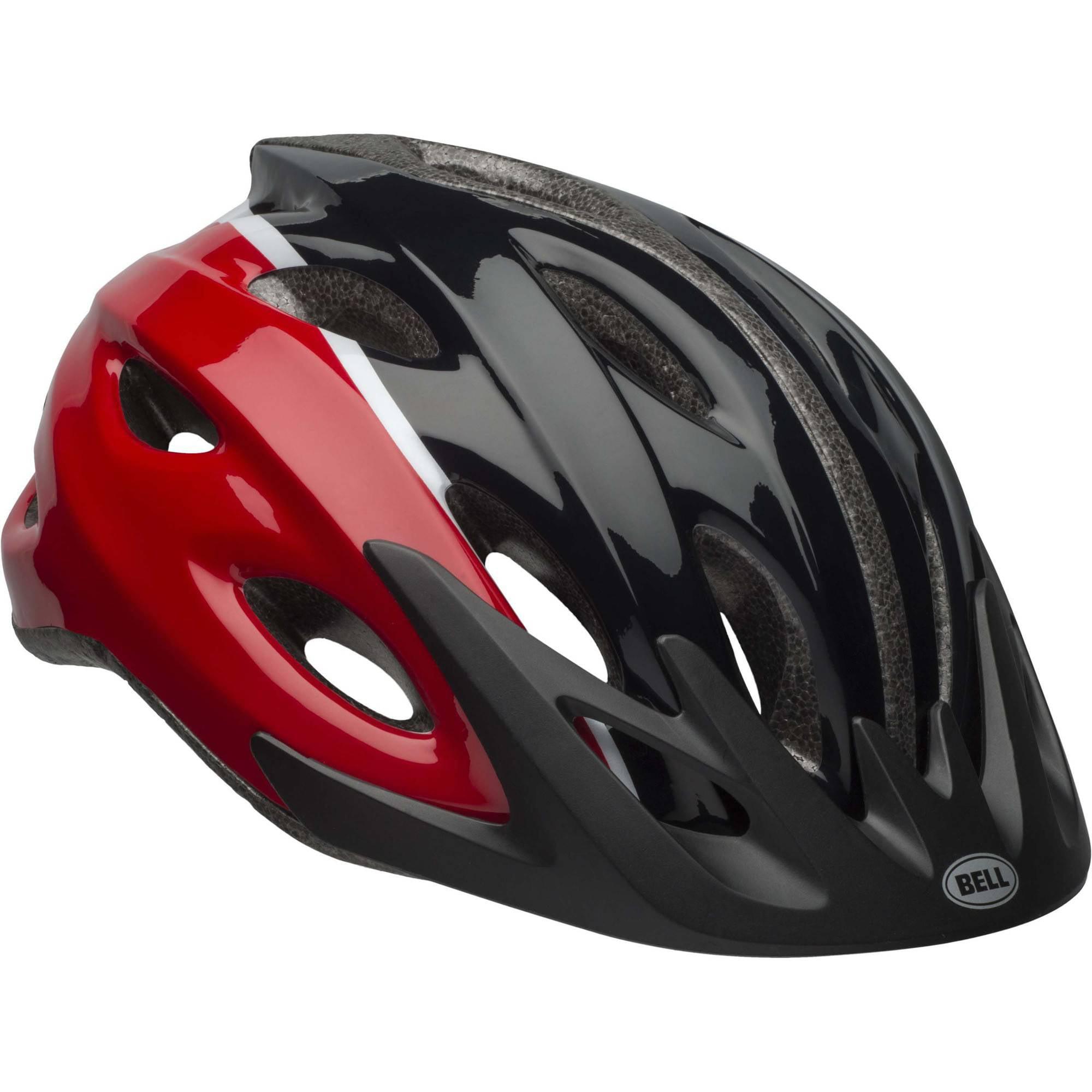 Bell Sports Ringer Slate Adult Helmet, Red and Black