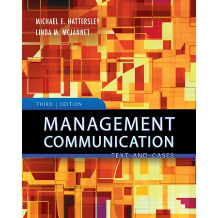 Management Communication  Principles And Practice