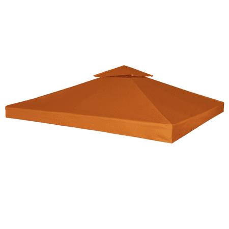 Outdoor 10' x 10' Waterproof Gazebo Cover Canopy - Terracotta