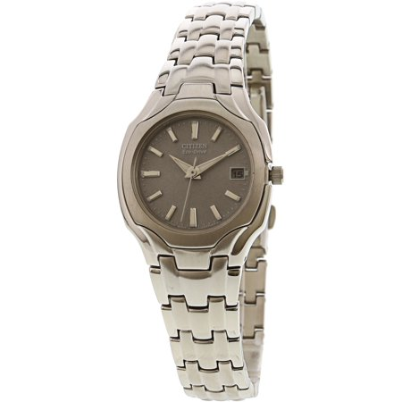 Women's EW1250-54A Eco-Drive Stainless Steel (Citizen Eco Drive Ladies Fashion)