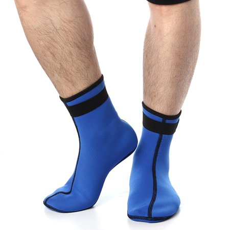 Meigar 2.5MM Neoprene Diving Scuba Surfing Swimming Socks Water Sports Snorkeling Boots Non-Skid