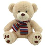 Eddie the Bear Plush Toy with Scarf