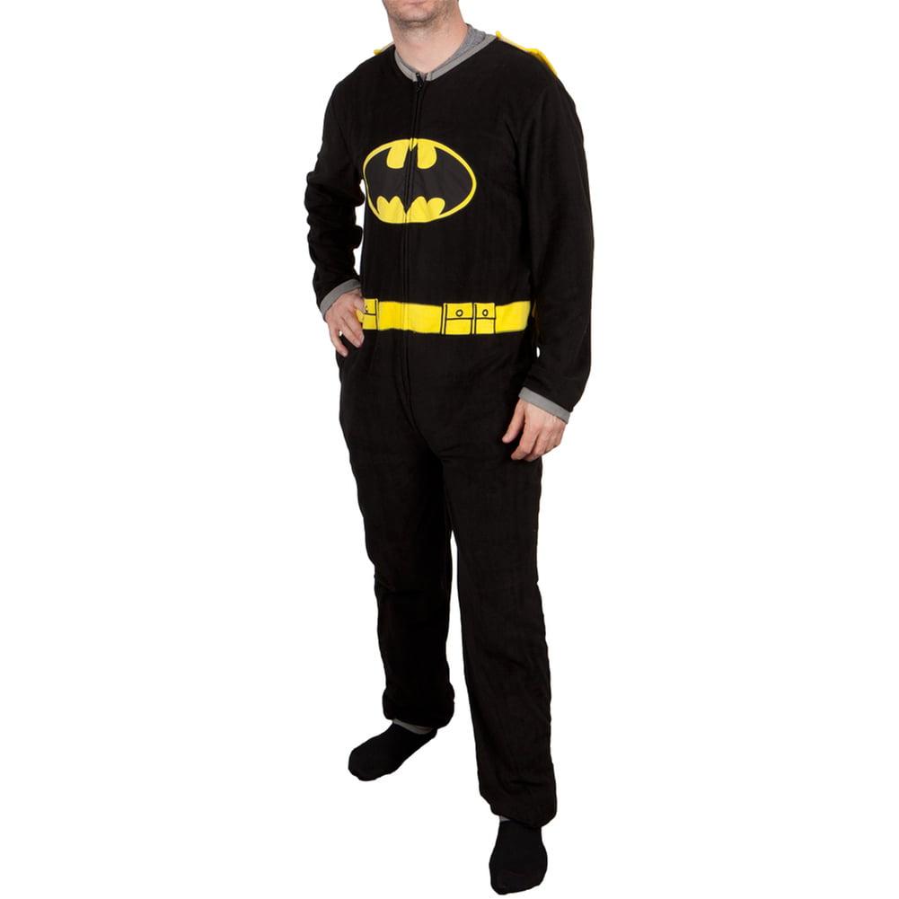 Batman Costume Union Suit With Cape