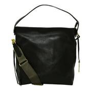 Fossil Maya Leather Hobo Bag - Black