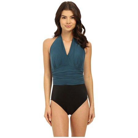 Magicsuit Women's Yves DD Soft Cup One-Piece Mallard Swimsuit Sz: