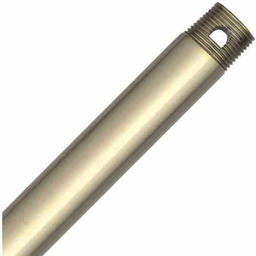"Hunter Fan Company 23192 60"" Downrod, Hunter Fan Company Bright Brass"