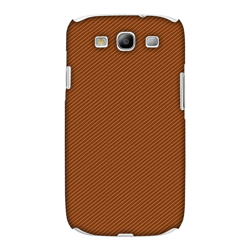 Samsung GALAXY S III Case, Premium Handcrafted Designer Hard Shell Snap On Case Printed Back Cover with Screen Cleaning Kit for Samsung GALAXY S III GT-I9300, Slim, Protective - Autumn Maple Texture