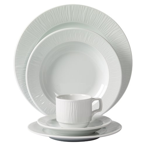 Mitterteich Emotion Embossed Porcelain 20 Piece Dinnerware Set Service for 4  sc 1 st  Walmart.com & Mitterteich Emotion Embossed Porcelain 20 Piece Dinnerware Set ...