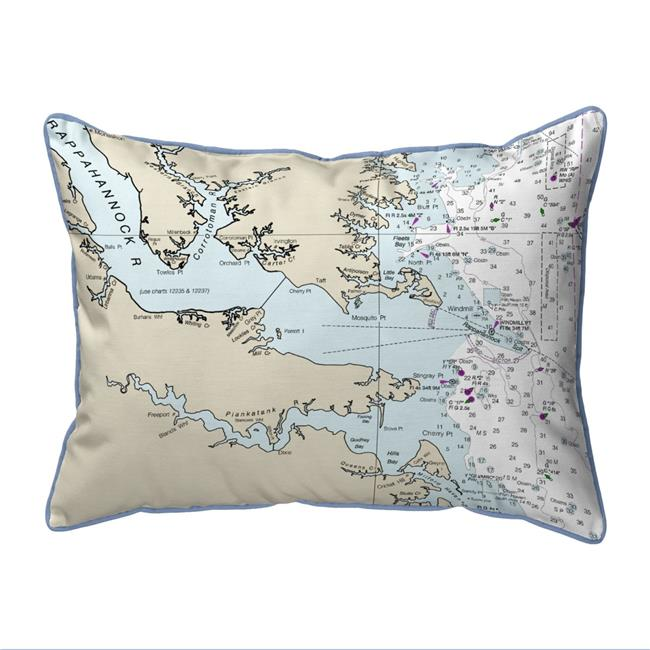 11 x14 Betsy Drake SN251 Magnolia Small Indoor//Outdoor Pillow